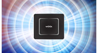 Altavoces wOOx duales para un sonido de graves mejorado