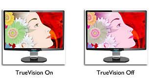 TrueVision: para un rendimiento de pantalla con calidad de laboratorio
