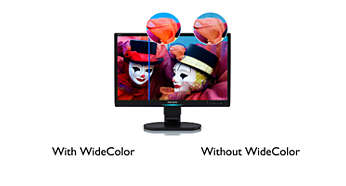 Display for Natural, Accurate color reproduction