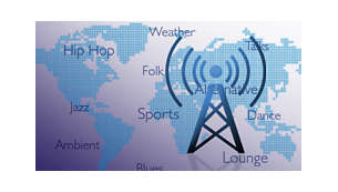 Thousands of free Internet Radio Stations
