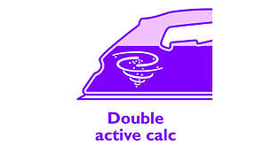 Calc-clean to prevent your iron from scale build-up