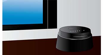 Małe wymiary urządzenia sprawiają, że pasuje do każdego wnętrza