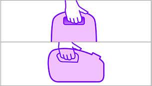 Dva udobna ročaja za prenašanje za dodatno priročnost