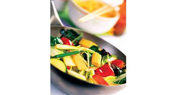 快速烹調,有效鎖住食物營養