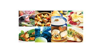 8 menu nấu ăn lành mạnh với chương trình làm nóng độc đáo