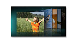 Display photos and photo slideshows