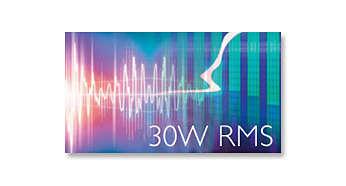 30W RMS