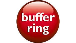 Buffer ring for protection and stability