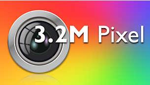 3.2 Megapixel autofocus camera