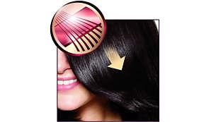 Керамични плочи за гладко плъзгане и бляскава коса