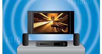 Digitální příjem pro senzační kvalitu obrazu a zvuku