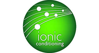 Ionic conditioning for shiny, healthy-looking hair
