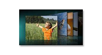 Riproduci le tue foto e diapositive preferite sul tuo comodino