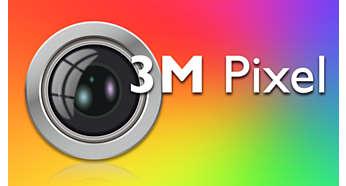 3 Megapixel autofocus camera