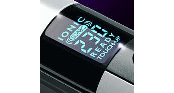 Digital einstellbare Temperaturstufen für glatte Ergebnisse