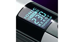 Цифрови настройки за регулируемо нагряване, за по-гладък резултат