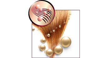 Cистема ионизации для гладких блестящих волос