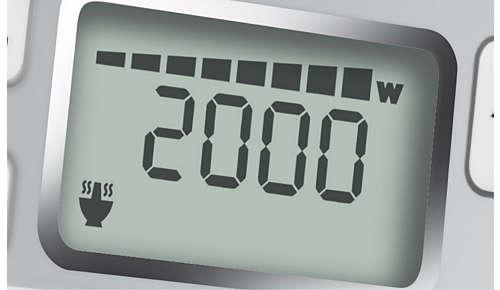 Puissance haute de 2000W pour une cuisson plus rapide