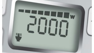 2000W high power for faster cooking