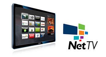 Philips Net TV มี Wi-Fi สำหรับบริการออนไลน์ยอดนิยมบนทีวีของคุณ