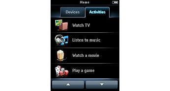 Activities to control multiple devices