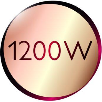 Бережная сушка при мощности 1200Вт для красоты Ваших волос