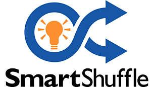 利用 Smart Shuffle 功能選擇您最想先聽的音樂