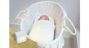 Op afstand te activeren nachtlampje en slaapliedjes
