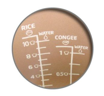 Easy-to-read water level indicator