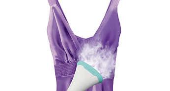 Seguro para ser usado em tecidos delicados, como seda
