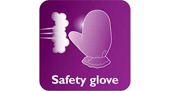 Găng tay tăng cường cách nhiệt bảo vệ đôi tay bạn trong khi ủi hơi nước