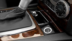 Charge from a car's 12 V outlet