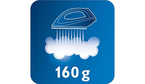 Dampfstoß von bis zu 160g