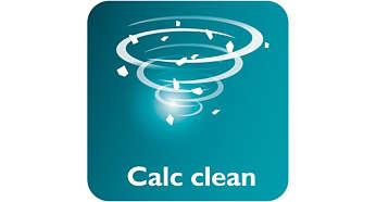 Geseran Calc clean akan menghilangkan kerak dengan mudah dari setrika Anda