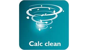 Calc Clean-Taste für leichtes Entkalken Ihres Bügeleisens