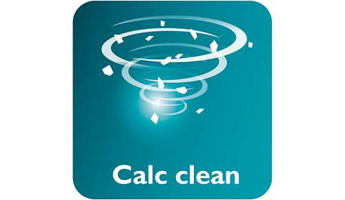 Calc Clean-skyder til nem fjernelse af kalk fra strygejernet