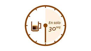 Una taza de café SENSEO® en unos 30segundos
