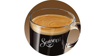 Delicious SENSEO® crema layer as proof of Marcilla quality