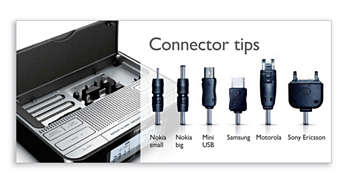 Built-in storage compartment to store your connector tips