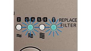 清新空氣保護提示功能會於適當時間提示您更換濾網