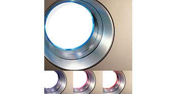 4 段燈號指示,清楚呈現空氣品質等級