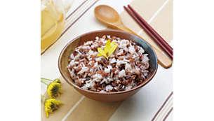6 rice cooking menus