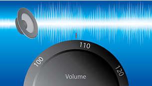 Dyskretny wzmacniacz i liniowy zasilacz zapewniają czysty dźwięk