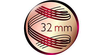 32mm Lockenstab für unwiderstehliche Locken und Wellen