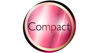 Kompaktes Design für mehr Bedienkomfort