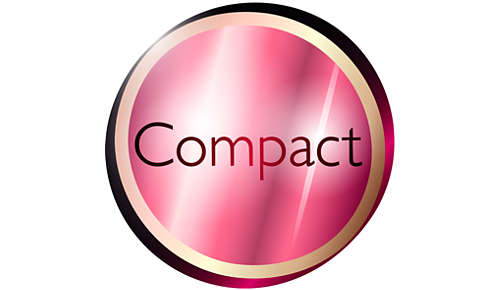 Compact ontwerp voor eenvoudig gebruik
