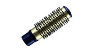 38mm thermo brush to smooth your hair