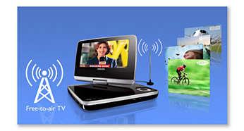 Réception des canaux de télévision numérique sans frais