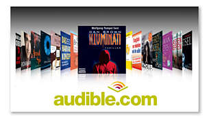 Audible.com features digital audiobooks and more