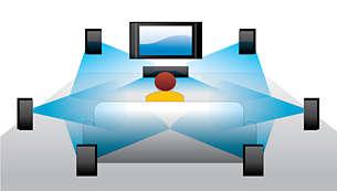 DTS-HD MA para un sonido envolvente 7.1 de alta calidad